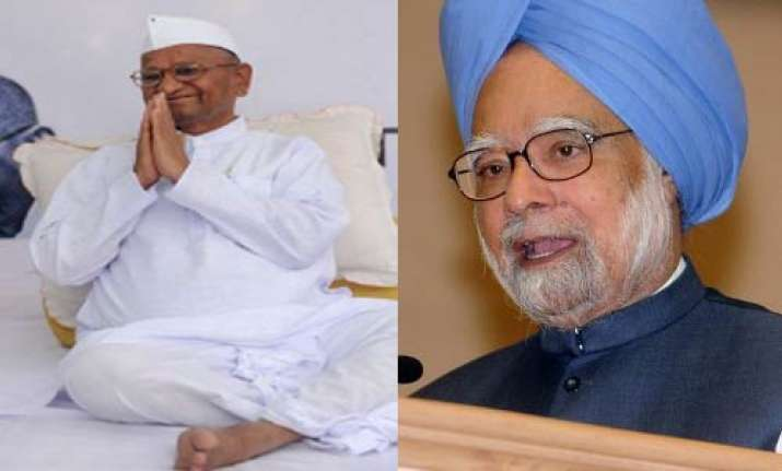 hazare an important leader whom i respect pm