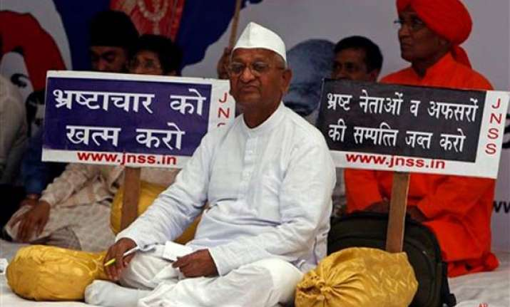 hazare asks supporters to stage rallies flag marches