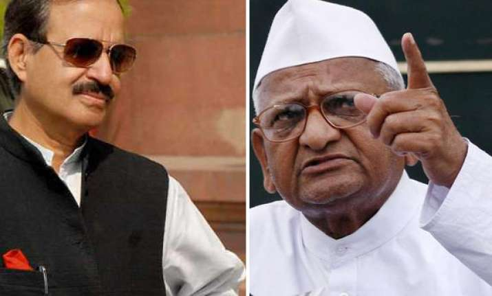 hazare has right to fast but making law parliament s job
