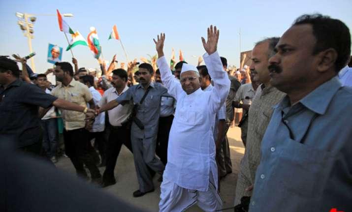 hazare like krishna will deliver from corruption supporters