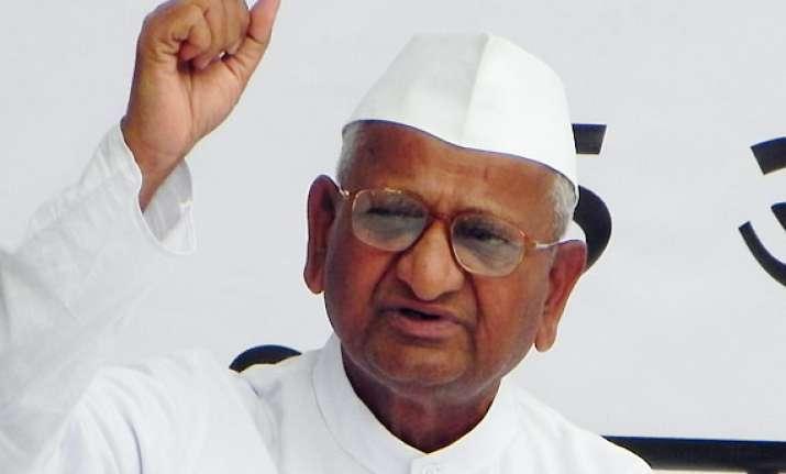 hazare renews demand for withdrawing govt s lokpal bill