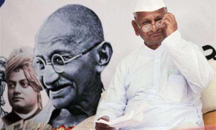 hazare threatens big protest for strong lokpal bill
