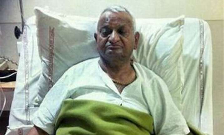 hazare to be discharged from hospital tomorrow