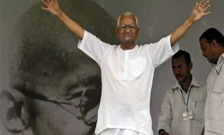 hazare to continue protest for strong anti corruption law