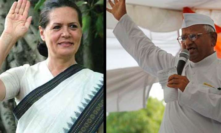 hazare writes to sonia stop character assassination