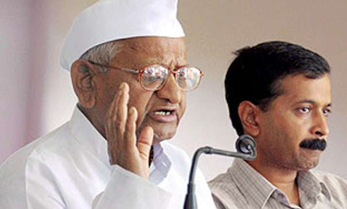 hazare denies rift in team anna