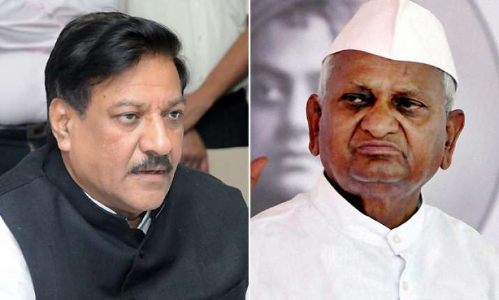 hazare s advisors had score to settle with congress says
