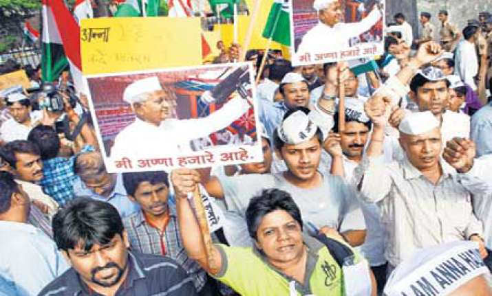 hazare s agitation is business opportunity for some