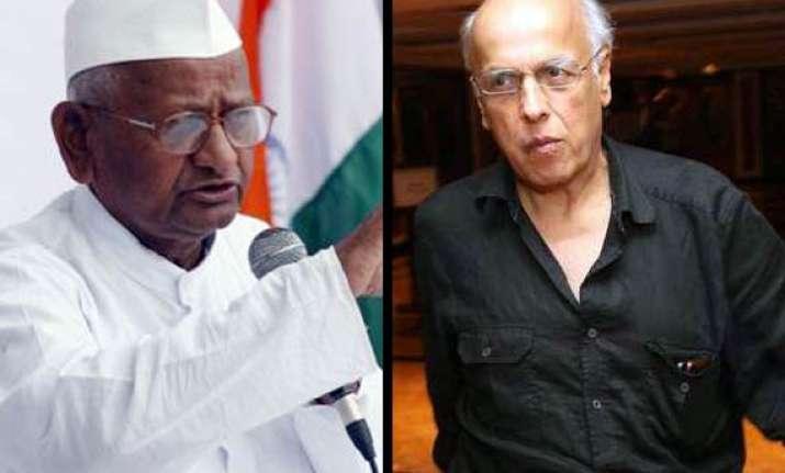 hazare s approach authoritarian mahesh bhatt