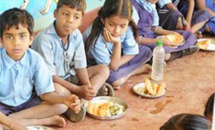 headmaster arrested for selling mid day meal rice in tripura