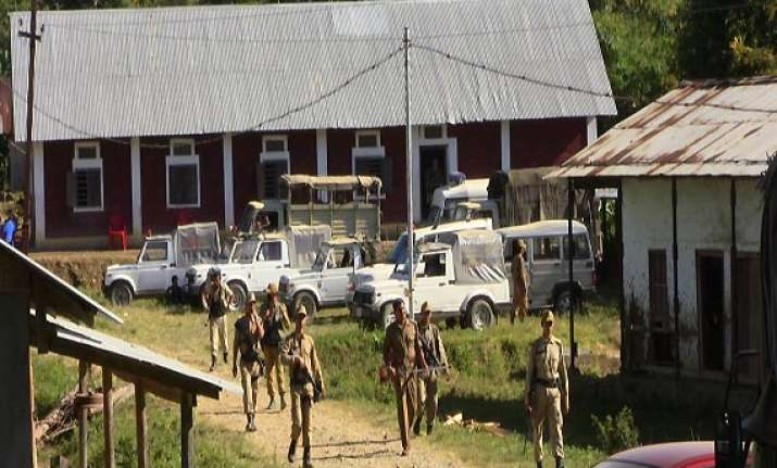 heavy police force deployed in manipur ahead of i day