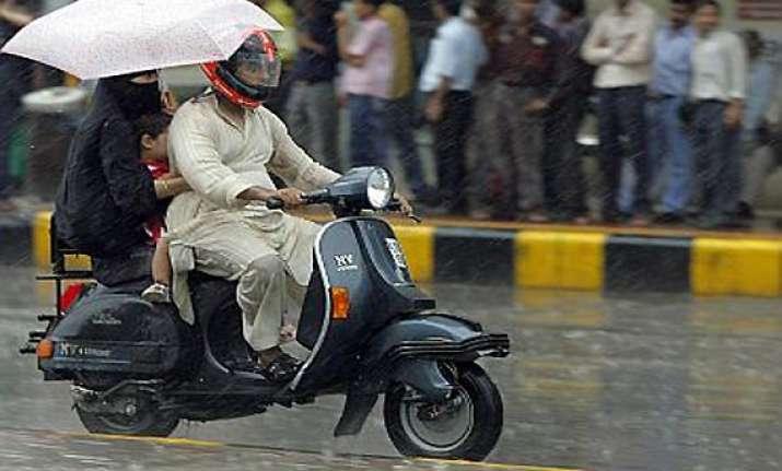 heavy rains lash punjab few places in haryana