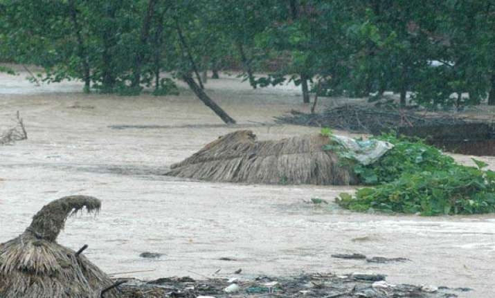 heavy rains lash east godavari district alert sounded