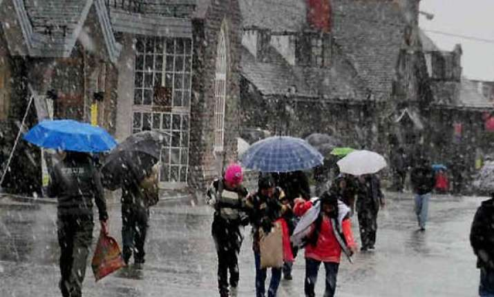heavy showers in parts of himachal