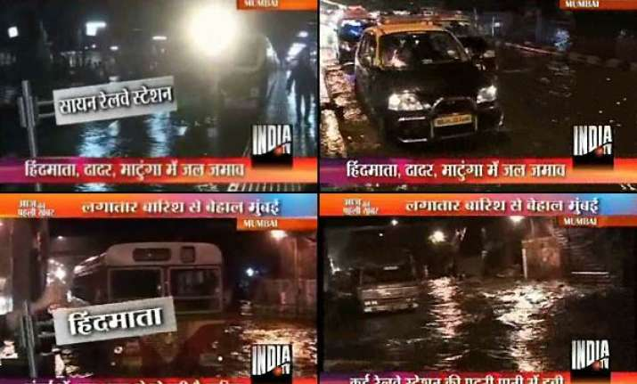 heavy rains cripple life in mumbai