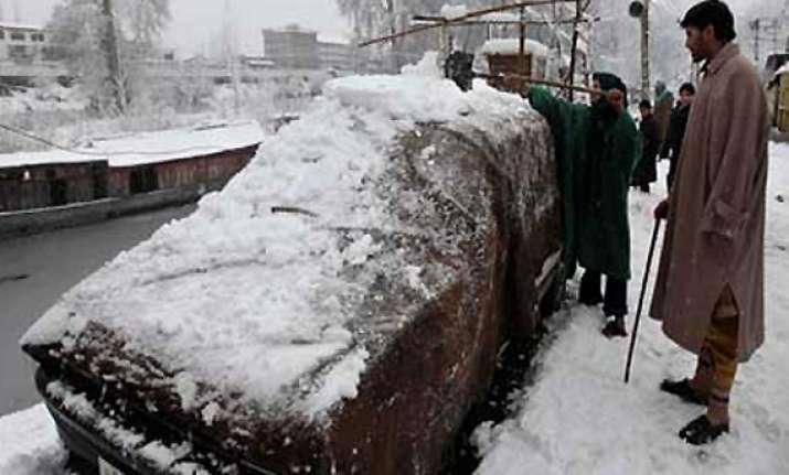 heavy snowfall in kashmir pok
