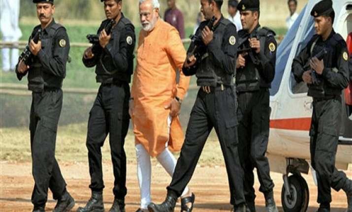 high security in varanasi ahead of modi visit tomorrow
