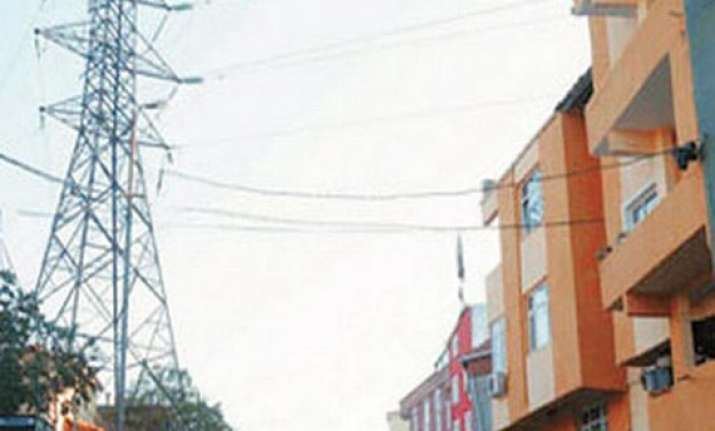 high tension wires passing through congested colonies to be