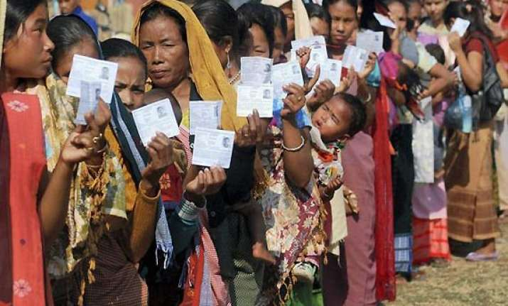 high turnout in north east once again in second phase of