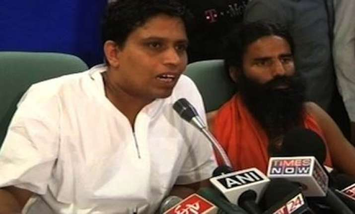 high court stays ramdev aide balkrishna s arrest