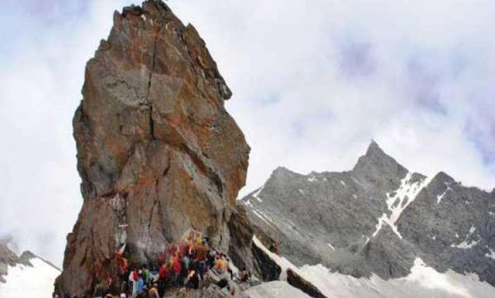 himachal 10 day long shrikhand pilgrimage begins