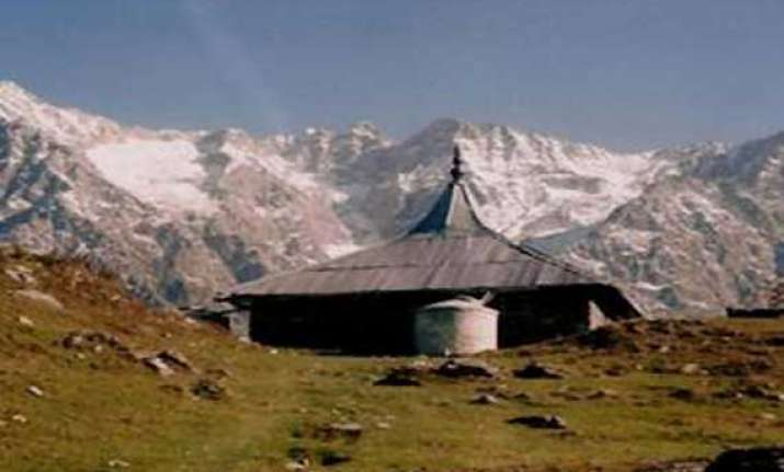 himachal s hilltop aadi himani chamunda temple damaged in
