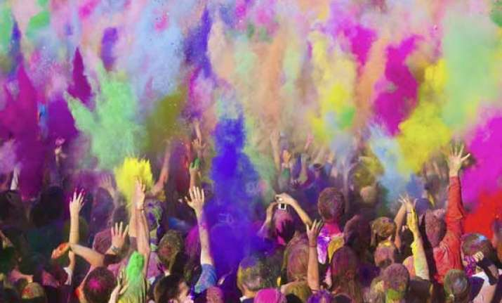 holi special know how colours relate to one s life