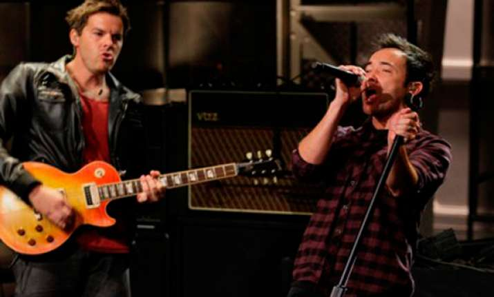 hoobastank performs in shillong