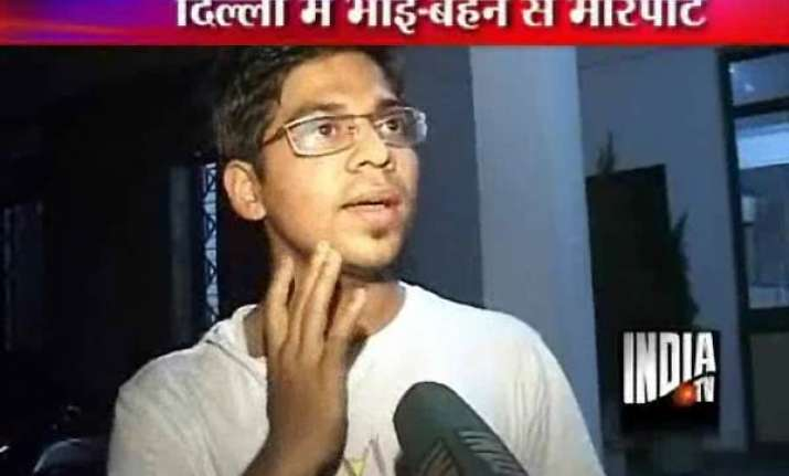 hoodlums bash up journalist his sisters in east delhi