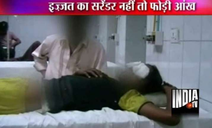 horror in up girl resisting rape loses eye