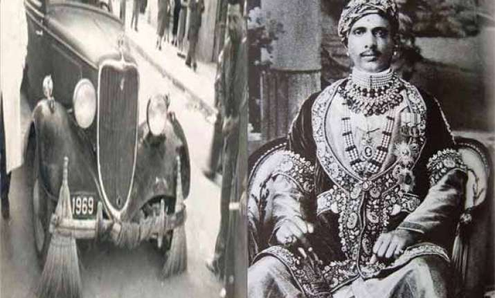 How an insulted Maharaja in Alwar used Rolls Royce cars for carrying