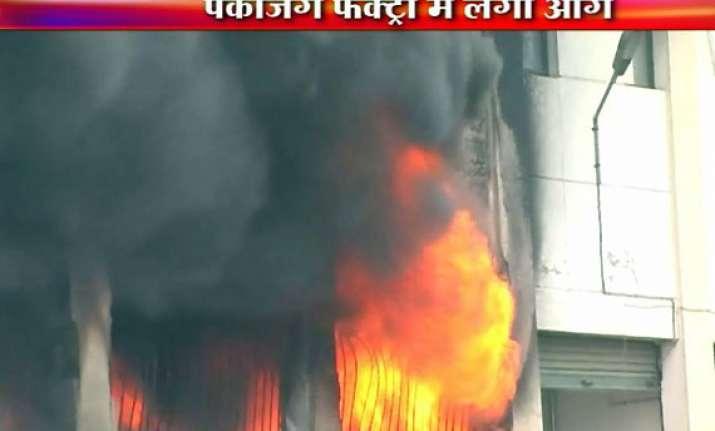 huge blaze guts ghaziabad packaging factory