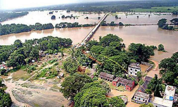 hundreds evacuated after flooding in odisha