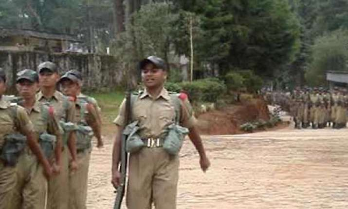 hunt on for meghalaya cop for raping two minors