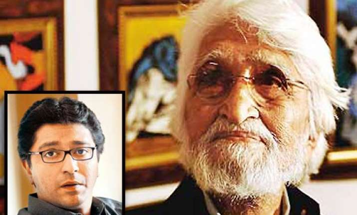 husain s body should be laid to rest in india says raj
