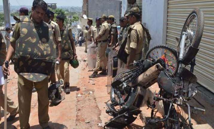 hyderabad clashes brief relaxation in curfew tomorrow