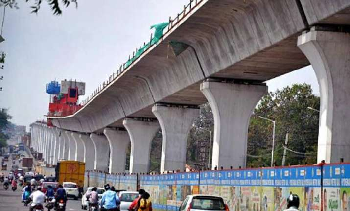 hyderabad metro rail to be opened to traffic by march 2015