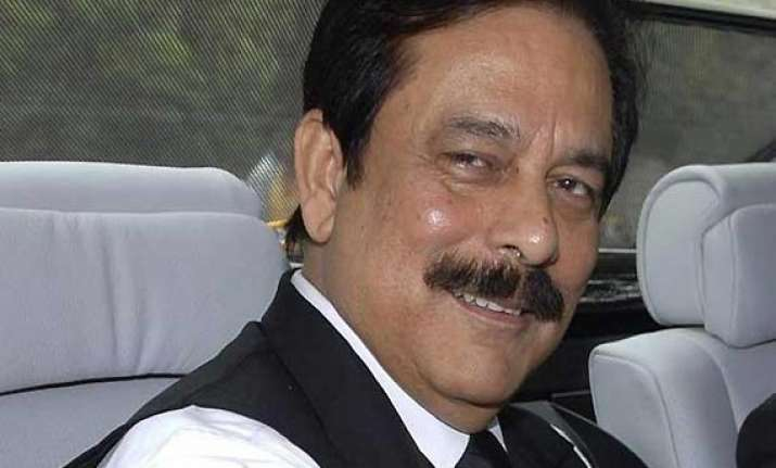 sahara chief subarata roy lodged in kukrail forest guest
