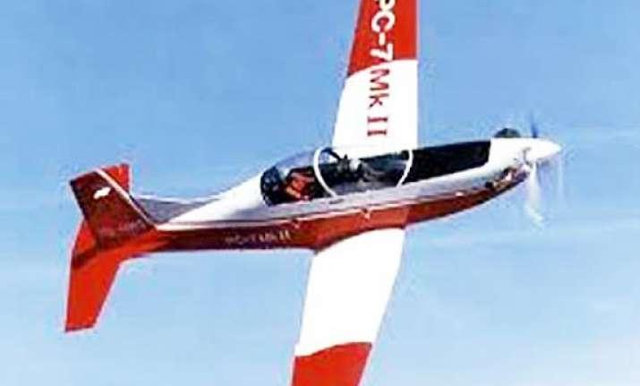iaf inducts pilatus pc 7 trainer