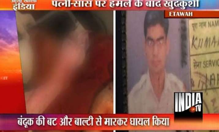 iaf officer kills wife in up commits suicide on rail track