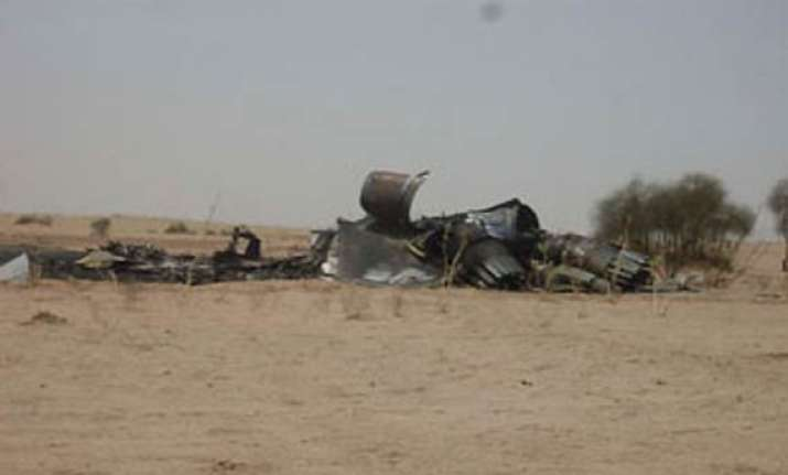 iaf sukhoi fighter crashes both pilots bail out safely