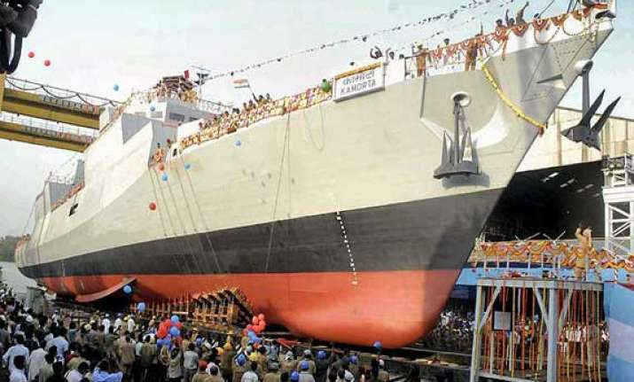 ins kamorta the first indigenous warship for navy