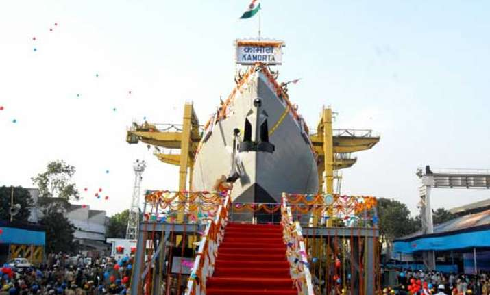 ins kamorta the first indigenous stealth corvette of indian