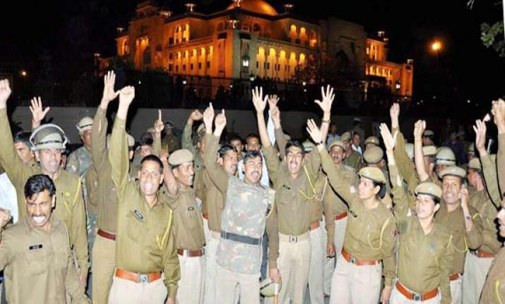 ips officer booked for assaulting shifted