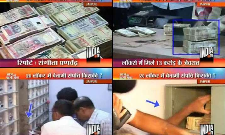 it raids in jaipur rs 15 crore cash and jewellery seized