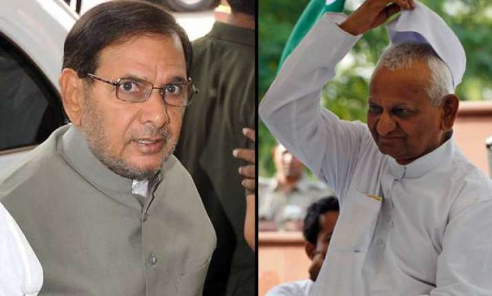 i am against fast as a means of protest says sharad yadav