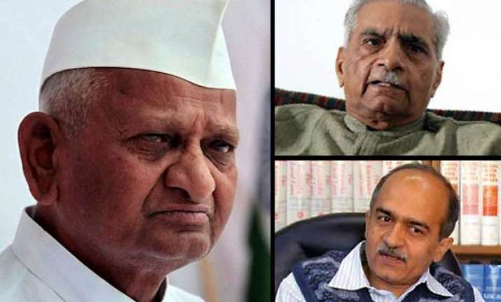 i don t know the bhushans well at all says anna hazare
