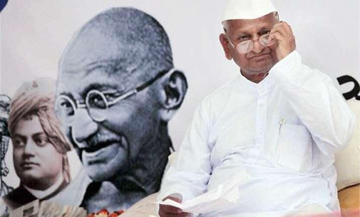 i have never advocated violence says anna hazare