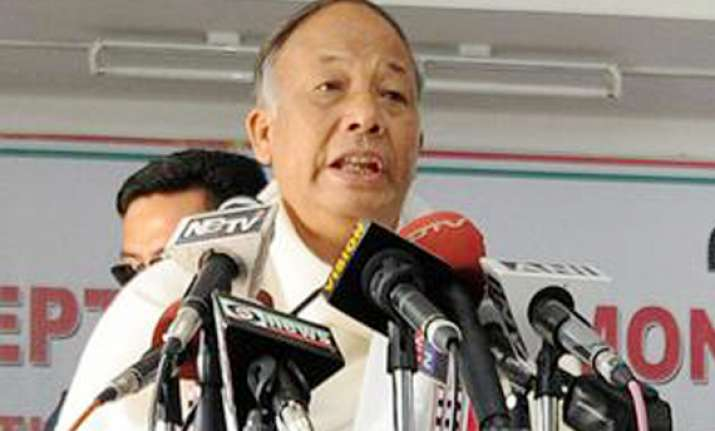 ibobi singh sworn in manipur chief minister