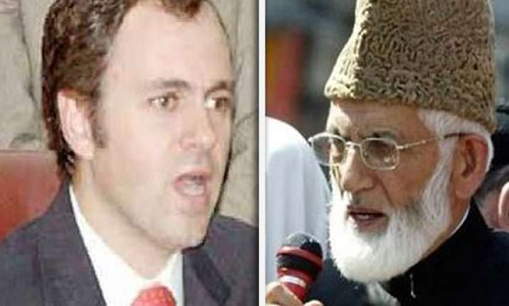 identify emissaries who called on you omar asks geelani